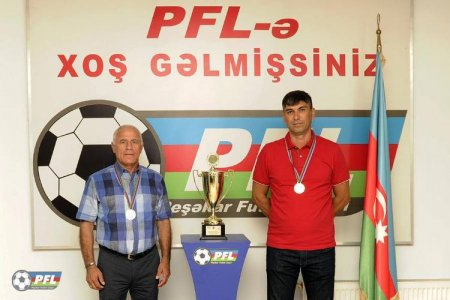 PFL I Divizionun medalçılarını mükafatlandırılıb