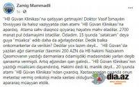 """""""HB Güvən Klinikası""""nda 1-ci qrup Qarabağ əlilinin həyatına necə son qoydular... - """"Atama səhv diaqnoz qoyaraq..."""""""