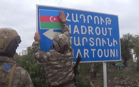 İşğaldan azad edilən daha bir kəndin görüntüləri - VİDEO