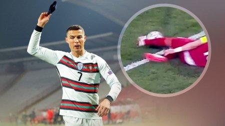 Ronaldonun qolu sayılmadı, baş hakim səhv etdiyini etiraf edib üzr istədi - VİDEO