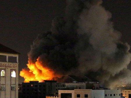 İsrail ordusu HƏMAS-a aid strateji obyektləri məhv etdi