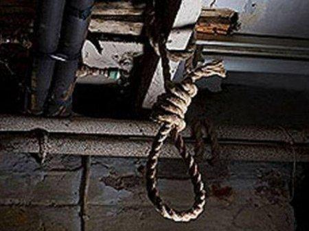 Cəlilabadda 30 yaşlı kişi intihar etdi
